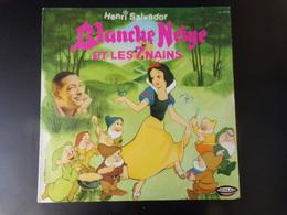 33 T Henri Salvador Chante Blanche Et Les 7 Nains - Kinderlieder