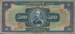 Brazil / Brasilien: República Dos Estados Unidos Do Brasil 500 Mil Reis ND(1931), P.92, Great Note W - Brazil