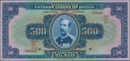 Brazil / Brasilien: República Dos Estados Unidos Do Brasil - Thesouro Nacional 500 Mil Reis ND(1931) - Brazil