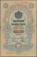 Bulgaria / Bulgarien: 100 Leva Srebro ND(1904) With Signatures: Chakalov & Venkov, P.5b, Very Nice A - Bulgarije