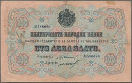 Bulgaria / Bulgarien: 100 Leva Zlato ND(1906) With Signatures: Chakalov & Gikov, P.11c, Still Nice A - Bulgarije