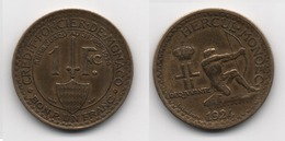 + MONACO + 1 FRANC 1924 + TRES TRES BELLE + - Mónaco