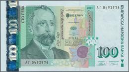 Bulgaria / Bulgarien: Pair With 100 Leva 2003 P.120 (UNC) And 100 Leva 2018 P.new (UNC). (2 Pcs.) - Bulgarien