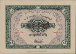 Burma / Myanmar / Birma: Union Of Burma Independence Savings Certificates 100 Kyats 1944, Schwan-Bol - Myanmar