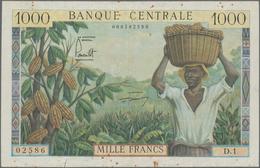 Cameroon / Kamerun: Banque Central - Republique Du Cameroun 1000 Francs ND(1961), P.7, Still Nice An - Kamerun