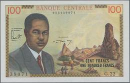Cameroon / Kamerun: Banque Centrale - République Fédérale Du Cameroun 100 Francs ND(1962), P.10, Tin - Kamerun