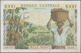 Cameroon / Kamerun: Banque Centrale - République Fédérale Du Cameroun 1000 Francs ND(1962), P.12b, S - Kamerun