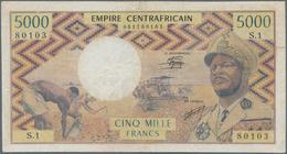 Central African Republic / Zentralafrikanische Republik: Banque Des États De L'Afrique Centrale - Em - República Centroafricana