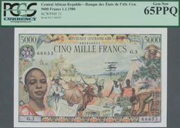 Central African Republic / Zentralafrikanische Republik: Banque Des États De L'Afrique Centrale - Ré - República Centroafricana