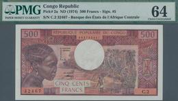 Congo / Kongo: Banque Centrale Des États Del'Afrique Centrale - République Populaire Du Congo 500 Fr - Congo
