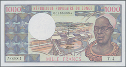Congo / Kongo: Banque Centrale Des États Del'Afrique Centrale - République Populaire Du Congo 1000 F - Congo