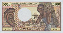 Congo / Kongo: Banque Centrale Des États Del'Afrique Centrale - République Populaire Du Congo 5000 F - Non Classés