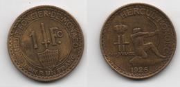 + MONACO + 1 FRANC 1926 + TRES TRES BELLE + - Mónaco
