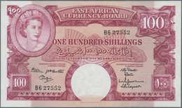 East Africa / Ost-Afrika: The East African Currency Board 100 Shillings ND(1961-63) With Top Signatu - Banknotes