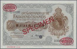 Falkland Islands / Falkland Inseln: The Government Of The Falkland Islands 50 Pence 1969 De La Rue S - Falklandeilanden