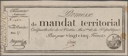 France / Frankreich: Trésorerie Nationale, Promesse De Mandat Territorial Set With 4 Banknotes, 2x 2 - 1955-1959 Sobrecargados (Nouveau Francs)