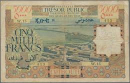 French Afars & Issas: Trésor Public - Territoire Français Des Afars Et Des Issas 5000 Francs ND(1969 - Banknotes
