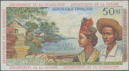 French Antilles / Französische Antillen: Institut D'Émission Des Départements D'Outre-Mer 50 Nouveau - Banknoten