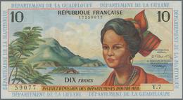 French Antilles / Französische Antillen: Institut D'Émission Des Départements D'Outre-Mer 10 Francs - Banknoten