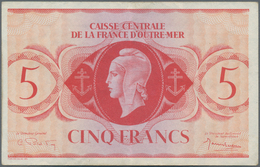 French Equatorial Africa / Französisch-Äquatorialafrika: Caisse Centrale De La France D'Outre-Mer 5 - Equatoriaal-Guinea