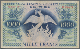 French Equatorial Africa / Französisch-Äquatorialafrika: Caisse Centrale De La France D'Outre-Mer 10 - Equatorial Guinea