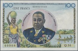 French Equatorial Africa / Französisch-Äquatorialafrika: Institut D'Émission De L'Afrique Équatorial - Equatoriaal-Guinea
