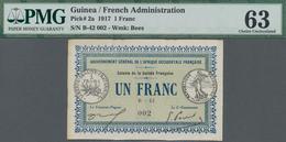 Guinea: Gouvernement Général De L'Afrique Occidentale Française - Colonie De La Guinée Française 1 F - Guinea