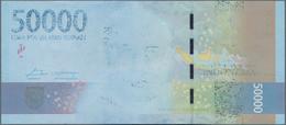 Indonesia / Indonesien: Bank Indonesia 50.000 Rupiah Emisi 2016 / Peruri TC 2017, P.159b, Error Note - Indonesia