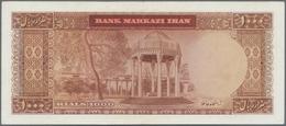 Iran: Bank Markazi Iran 1000 Rials SH1341 (1962), P.75, Highest Denomination Of This Series In Great - Iran