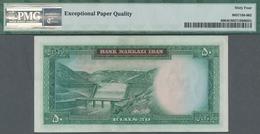 Iran: Bank Markazi Iran, Set With 5 Banknotes Series ND(1971-73) Containing 2x 50 Rials P.90 (PMG 64 - Iran