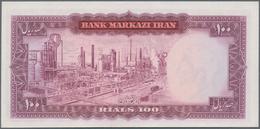 Iran: Bank Markazi Iran, Set With 7 Banknotes Series ND(1971) Containing 100 Rials P.91a (UNC), Cons - Iran