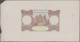 Morocco / Marokko: Banque D'État Du Maroc Progressive Front Proof For The 100 Francs 1928-47, P.20 F - Morocco