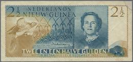 Netherlands New Guinea / Niederländisch Neu Guinea: Ministerië Van Overzeesche Rijksdelen 2 ½ Gulden - Papua New Guinea