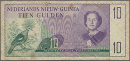 Netherlands New Guinea / Niederländisch Neu Guinea: Ministerië Van Overzeesche Rijksdelen 10 Gulden - Papua New Guinea