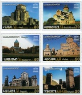 Georgia 2004, Historical Monuments - World Heritage Buildings, MNH Stamps Set - Georgië