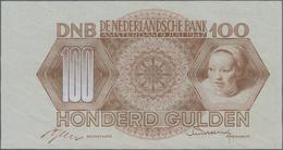 Netherlands / Niederlande: 100 Gulden 1947, P.82a In Perfect UNC Condition. - Netherlands