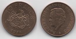 + MONACO + 10 FRANCS 1979 + TRES TRES BELLE + - 1960-2001 Nouveaux Francs