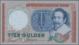 Netherlands / Niederlande: 10 Gulden 1953, P.85 Replacement Note With Serial Number CJP 102995 In UN - Netherlands