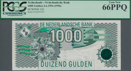 Netherlands / Niederlande: 1000 Gulden 1994 (1996), P.102, Highest Denomination Of This Series In Pe - Paises Bajos