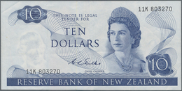 New Zealand / Neuseeland: Reserve Bank Of New Zealand 10 Dollars ND(1968-75), Signature: Wilks, P.16 - New Zealand