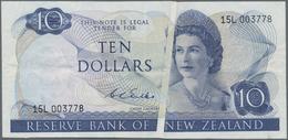 New Zealand / Neuseeland: Reserve Bank Of New Zealand 10 Dollars ND(1968-75), Signature: Wilks, P.16 - Nieuw-Zeeland