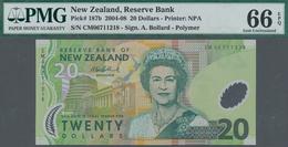 New Zealand / Neuseeland: Reserve Bank Of New Zealand 20 Dollars (20)06 With Signature: Bollard, P.1 - New Zealand