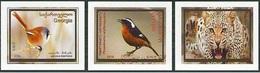 Georgia 2016, Fauna, MNH Self-Adheasvive Stamps Set - Georgië