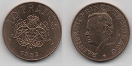 + MONACO + 10 FRANCS 1982 + TRES TRES BELLE + - 1960-2001 Nouveaux Francs