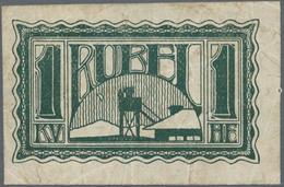 Russia / Russland: POW Camp Money WW I, 1 Ruble 1919 IRKUTSK, C.6912 In F/F+ Condition. Rare! - Russie