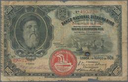 Saint Thomas & Prince / Sao Tome E Principe: Banco Nacional Ultramarino 2500 Reis 1909, P.8, Extraor - Sao Tome And Principe