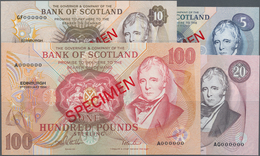 Scotland / Schottland: Bank Of Scotland Set With 4 Specimens Series 1993 And 1994 With 5 Pounds 1994 - [ 3] Scotland