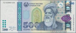 Tajikistan / Tadschikistan: 500 Somoni 2010, P.22 In Perfect UNC Condition. - Tadschikistan