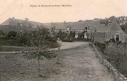 VUE PEU COURANTE - Morbihan - Rochefort En Terre - Le Château 1 - Autres Communes