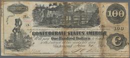 United States Of America - Confederate States: Treasury Of The Confederate States Of America, Pair W - Confederate Currency (1861-1864)